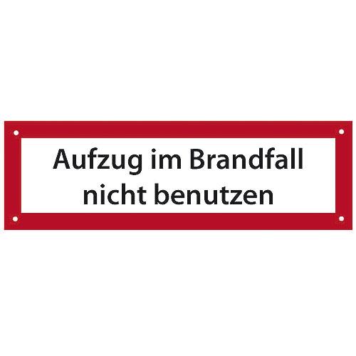 Berühmt Verbots- und Hinweisschilder mit deutscher Beschriftung :: W+W NI65